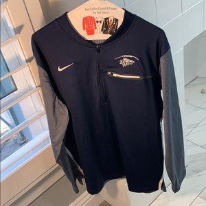 Men's Nike St. John Bosco quarter zip jacket